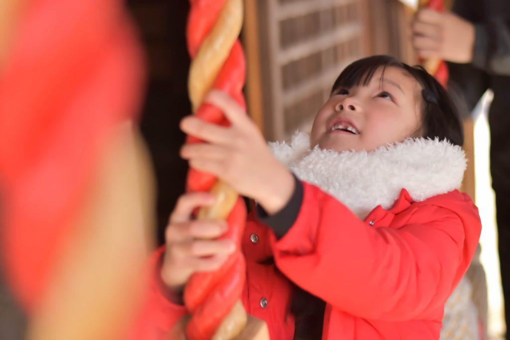 初詣の由来を子供に教える