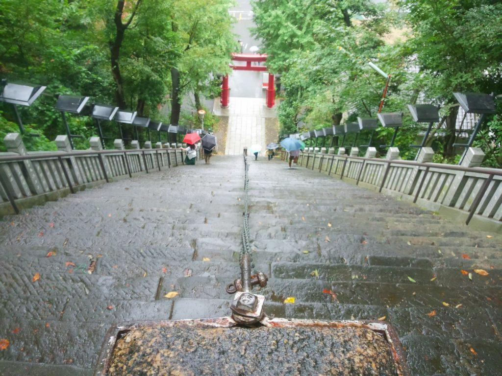 愛宕神社 出世の石段