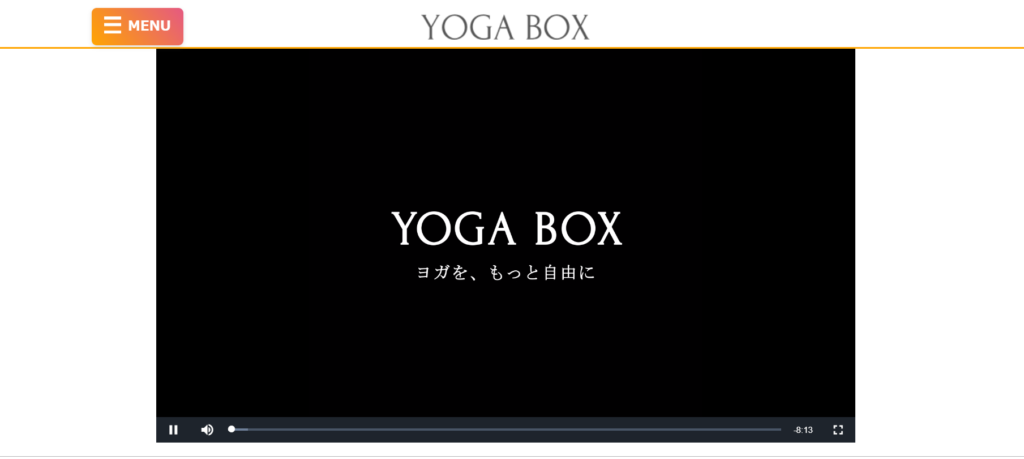 YOGABOX(ヨガボックス)動画