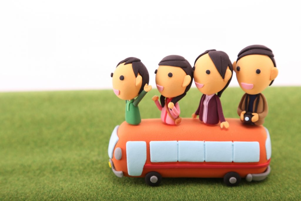 子連れバス旅行