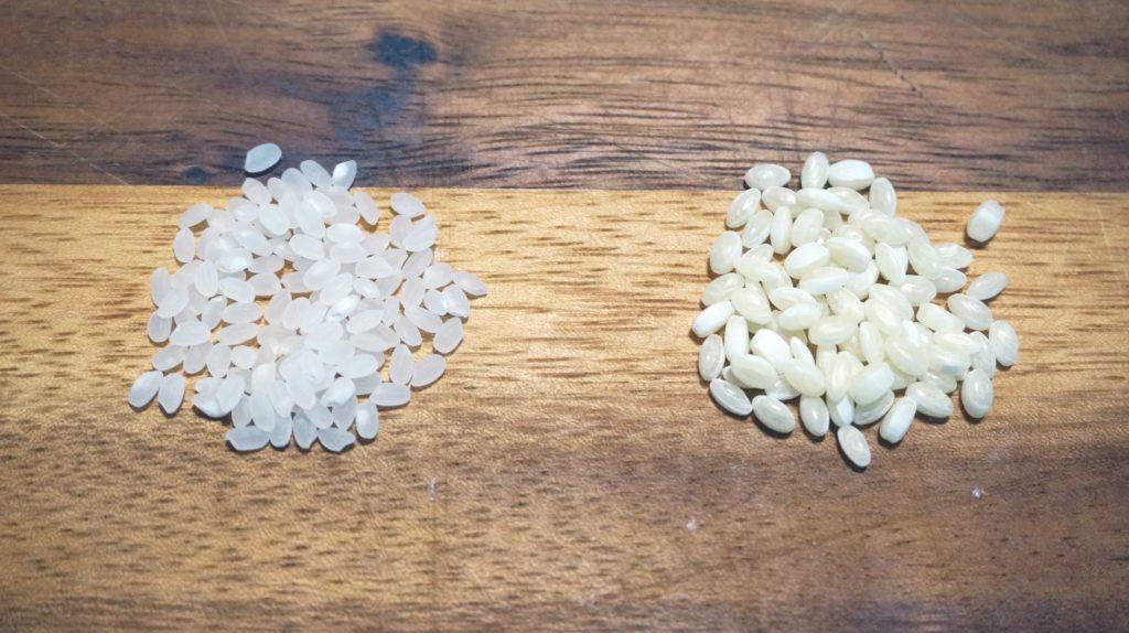 白米とTRICEの見た目比較