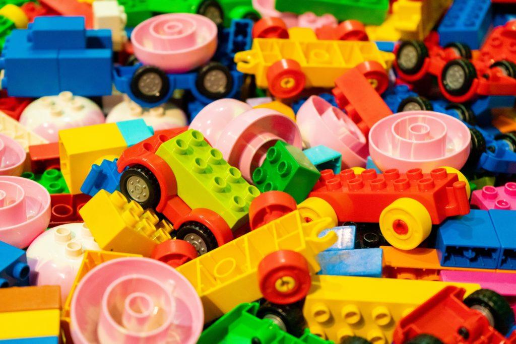 大量のブロック
