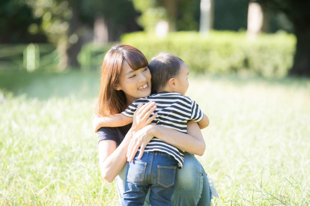 子供とママ